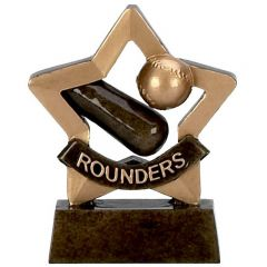 Mini Star Rounders Trophy A976-GW