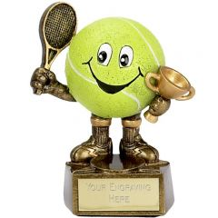 TENNIS BALL MAN TROPHY A998-GW