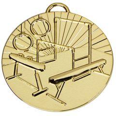 Gymnastics Medal With Ribbon AM1014R.01-GW