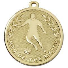 Galaxy Football Man Of The Match Medal AM1036.01-GW