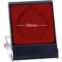 50mm Super Economy Plastic Clear Lid Medal Case AM225-GW