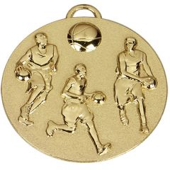 Basketball Medal  AM990-GW