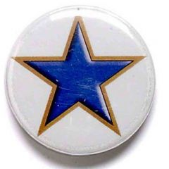 COLOURED STAR PIN BADGE BA001