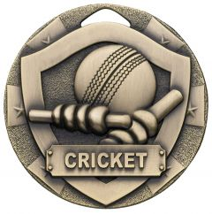 SHIELD CRICKET MEDAL BRONZE G7602-GWT