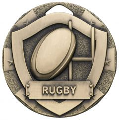 SHIELD RUGBY MEDAL BRONZE G797-GWT