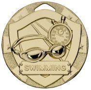 SWIMMING MINI SHIELD MEDALS G810-GWT