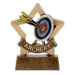 Mini Star Archery Trophy A1106-GW
