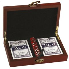 Rosewood Card & Dice Set GS001-GW