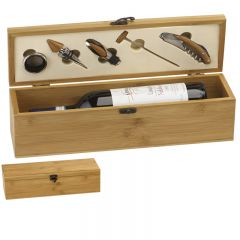 Bamboo Wine Presentation Box GS011-GW
