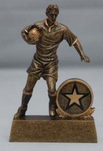 RUGBY PLAYER TROPHY RF297