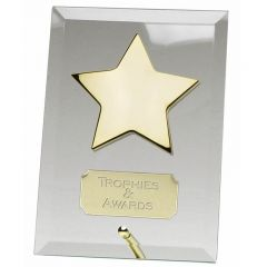 Crest Star Glass Award JC002AAAS-GW