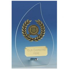 Hope Flame Glass Award JC127AT-GW