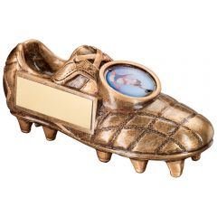 Bronze Football Boot Trophy RF194-TD