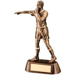 Bronze Football Referee Trophy RF629-TD