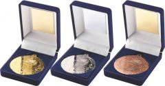 Blue Medal Box & Football Medal TY16-TD