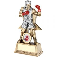 Male Boxing Figure Trophy RF170-TD