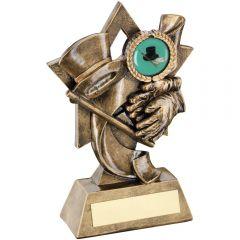 Tap Dance Diamond Series Trophy RF582-TD