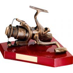Resin Angling Reel Trophy RF300-TD
