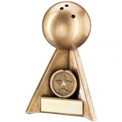 Ten Pin Bowling Pyramid Trophy RF247-TD