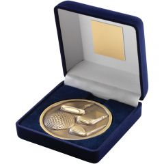 Blue Medal Box & Golf Medallion TY30-TD