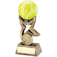 Resin Tennis Star Riser Trophy RF263-TD