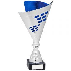 SILVER AND BLUE TROPHY AT45-TD