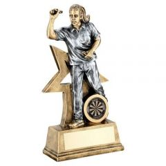 Female Darts Figure Trophy RF184-TD