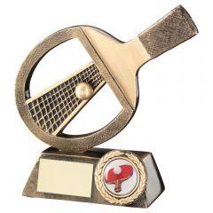 Resin Table Tennis Bat Trophy RF636-TD