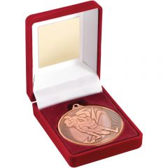 Red Medal Box & Rugby Medal TY147-TD