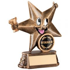 Resin Comic Star Trophy RF602-TD