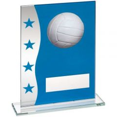 VOLLEYBALL GLASS AWARD TD647-TD