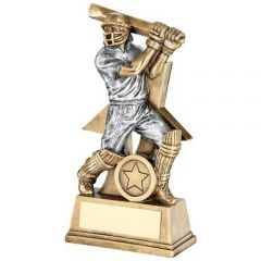 Male Resin Batsman Cricket Trophy RF176-TD