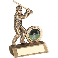 Male Resin Batsman Cricket Trophy RF40-TD