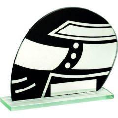 Black/Silver Glass Motor Sport Award TD8K-TD