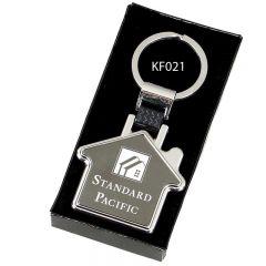 House Shape Keyring KF021-GW
