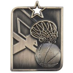 CENTURION STAR BASKETBALL MEDAL MM15012-TSA