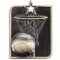 CENTURION STAR NETBALL MEDAL MM15013-TSA