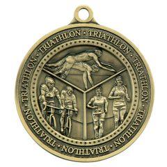 Triathlon Medal AM1053.12-GW