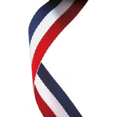 RED/White/Blue Medal Ribbon MR001-GW
