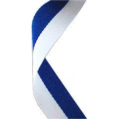 Blue/White medal Ribbon MR002-GW
