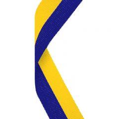 Blue/Yellow Medal Ribbon MR007-GW