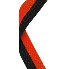 Black/Orange Medal Ribbon MR020-GW