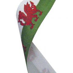 Wales Medal Ribbon MR043-GW