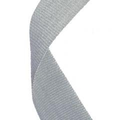 Grey Medal Ribbon MR045-GW