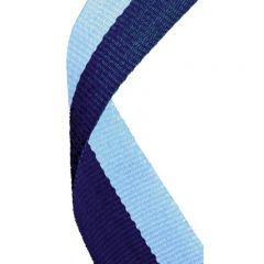 Navy/Light Blue Medal Ribbon MR052-GW