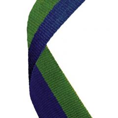 Blue/Green Medal Ribbon MR053-GW