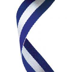Blue/White/Blue medal Ribbon MR061-GW