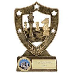 ShieldStar Chess Trophy N01002B/G-GW