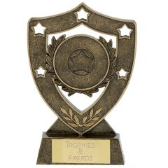 Shield Star Wreath Trophy N01035-GW