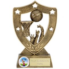 ShieldStar Netball Trophy N01036-GW